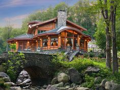 Luxury Log Cabin Mansions | Dream Log Homes : Blog Cabin : DIY Network