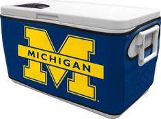 NCAA Michigan 48 Quart Cooler Cover