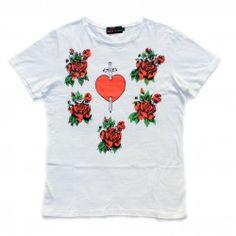 Sacred Heart T-shirt | SUE CLOWES