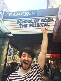 Andrew Lloyd Webber Invites You to B'way-Bound School of Rock Workshop, Starring Alex Brightman, Tonight!