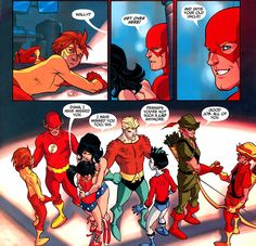 Donna Troy and Roy Harper | teen titans: year one on Tumblr