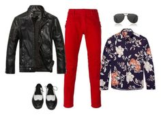 A menswear look from February 2017 featuring mens floral print shirts, mens pants and men's stand collar jacket. Browse and shop related looks. Balmain, Cool Stuff, Stuff To Buy, Men's Fashion, Menswear, Shoe Bag, Flowers, Polyvore, Shopping
