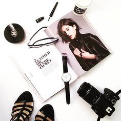 pretty fashion flatlays from instagram