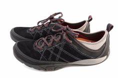 MERRELL Mimosa 8.5 Glee Sneakers Kangaroo Black Suede Walking Chore Shoes Trail #Merrell #Oxfords #WalkingHiking