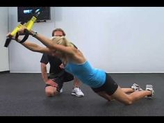 Sample exercise from The Surf Stronger TRX Workout. In this video, Scott Adams, CSCS takes professional surfer Holly Beck through the TRX Roll Out exercise. We found this to be one of the best ways to train your paddling fitness. The TRX Roll Out really gets at the core as well. Check it out!