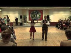 GLHC - Cam Mitchell and Loz Yee with a Swing Dance Performance at The Galway Lindy Hop Championships