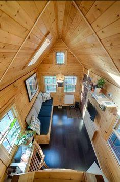 Pequeña cabaña de madera para tu próxima escapada romántica