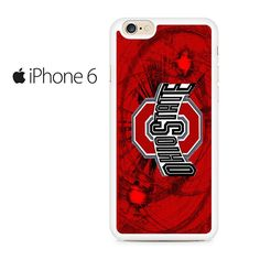 Ohio State Buckeyes Bowling Towel Iphone 6 Iphone 6S Case