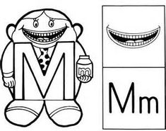 1000 images about the letter people on pinterest the for Letter people coloring pages