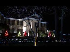 Time Lapse: Decorating Elvis Presley's Graceland for Christmas - YouTube