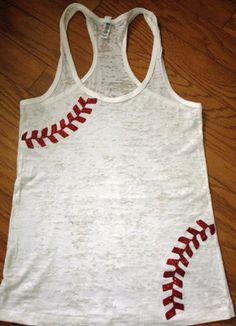 baseball tank - so cute! Need it!