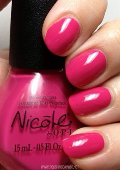 Nicole by OPI Spring Break $2 swatched 1x