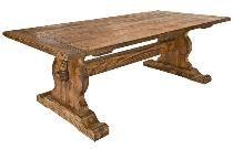 Pine Farmhouse Trestle Table