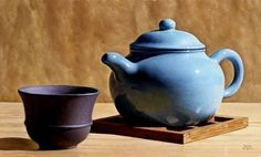 Ryder Blue Teapot Oil on panel, x Still Life Sketch, Still Life 2, Still Life Drawing, Still Life Photos, Still Life Photography, Fine Art Photography, Landscape Photography, Portrait Photography, Fashion Photography