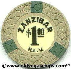 Las Vegas Zanzibar $1 Casino Chip from www.oldvegaschips.com