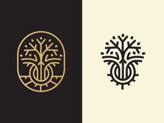 Growth Logo http://ift.tt/1Kw7x35 design tree roots