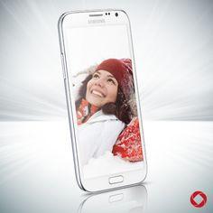White Samsung Galaxy S III #RogersWinterWhites