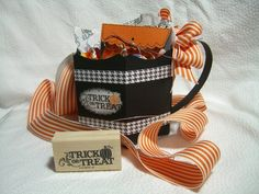 Pillow Box Bucket IMDC-1 Trick-or-Treat Mug