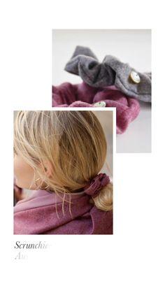 Scrunchie aus feinem Tuchloden. Der Scrunchie bietet ein angenehmes Tragegefühl und ist schonend zu den Haaren. Egal für welche Frisur, ob Pferdeschwanz, Dutt oder zu einer Flechtfrisur, der Haargummi passt einfach immer! Scrunchy made of fine cloth loden. The scrunchy gives a pleasant feeling and is gentle to the hair. No matter for which hairstyle, whether ponytail, bun or to a braided hairstyle, the scrunchy simply always fits! #scrunchie #hairstyle #haarschonend Novelty Gifts For Men, Gifts For Boss, Gifts For Women, Moderne Outfits, Coffee Wine, Watch Model, Wine Tumblers, Home Gifts, Ankle Booties