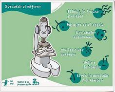 """""""Surcando el entorno 1"""", de la Junta de Castilla y León, es una aplicación con juegos interactivos de aprendizaje sobre el medio físico y social: los animales, el cuerpo humano, las estaciones, los sentidos, la familia y el paisaje. Para 1º y 2º niveles de Educación Primaria en las áreas de Ciencias de la Naturaleza y Ciencias Sociales."""