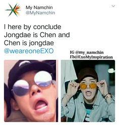 My Namchin #chen #exo