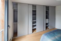 Tall Cabinet Storage, Locker Storage, How To Dress A Bed, One Bed, Home Office Decor, Home Decor, Armoire, Interior Design, Bedroom