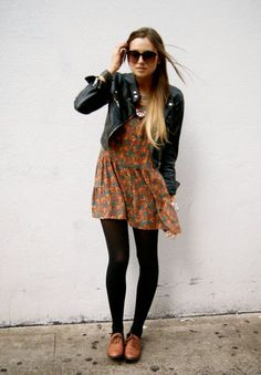 """The jacket """"meh"""", the dress and shoes, A+"""