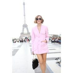 Paris fashionweek wearing Sonia Rykiel ❤ liked on Polyvore featuring backgrounds and models