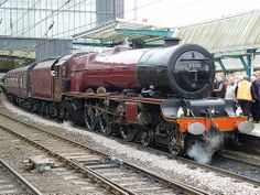 """6201 """"Princess Elizabeth"""" in Carlisle pulling """"The Carlisle and Settle"""" from Crewe to Carlisle on 26th March 2011"""