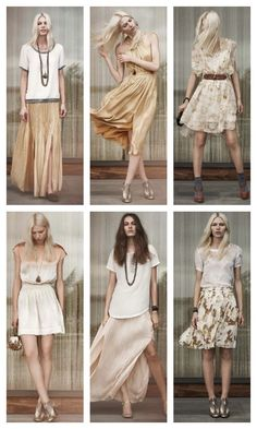 Happy 1st day of spring!  Club Monaco is launching e-commerce on March 26th. Here is some of the pretty look book to hold you over until then.  (images via: refinery 29)