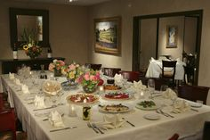 Our beautiful Lake Room perfect for any event!