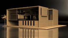 Self Sufficient House by Samer El Sayary Architects Architecture Model Making, Concept Architecture, Architecture Drawings, School Architecture, Sustainable Architecture, Beautiful Architecture, Beautiful Buildings, Contemporary Architecture, Interior Architecture