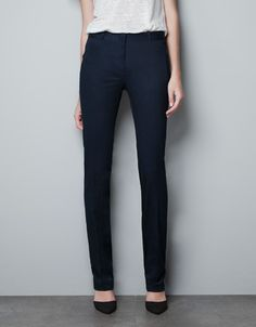 TWILL TROUSERS - Trousers - Woman - New collection - ZARA Spain