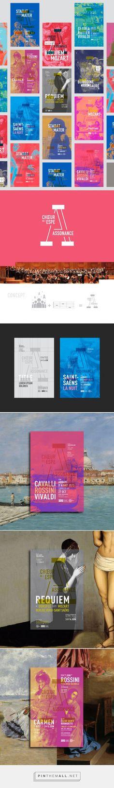 Assonance Choir Posters by Graphéine