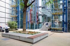 courtyard of Lloyd's Register of Shipping