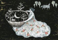 Playing with moon / by Tetsuhiro Wakabayashi