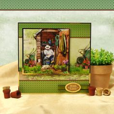 Card made using The Great Outdoors Luxury Topper Set from the Magnificent Men collection by Hunkydory Crafts http://www.hunkydorycrafts.co.uk/papercraft/hunkydory-collections/magnificent-men/magnificent-men-topper-set-the-great-outdoors-men905.html