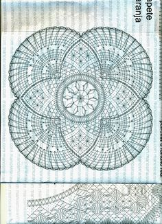 Billede: Lace Knitting, Knit Crochet, Bobbin Lace Patterns, Lacemaking, Tatting, Hello Kitty, Creations, Outdoor Blanket, Shabby