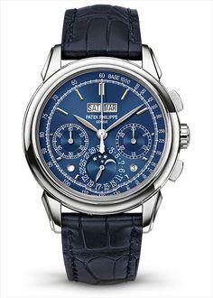 Baselworld 2014: 5 New Patek Philippe Perpetual Calendar Chronographs www.wardrobetvshow.com