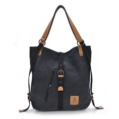 New Fashion Female Handbag Lady Girls Casual Canvas Handbag Shoulder Bag Multifunctional Women Messenger Bag