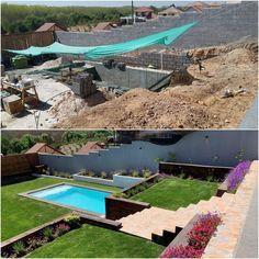 Hermosa piscina diseñada y construida en Lomas de lo Aguirre . Santiago de Chile Outdoor Decor, Instagram, Home Decor, Swimming Pool Construction, Santiago, Decks, Projects, Sweetie Belle, Interior Design