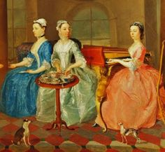 18th-century American Women: A day in the life of a wealthy widow on a country seat in colonial New York