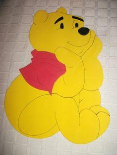 Figuras En Goma Eva De Winnie Pooh Y Sus Amigos. - $ 35,00