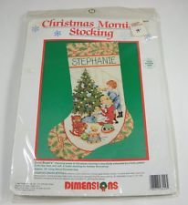 Dimensions Cross Stitch Kit - Christmas Morning Stocking 8429 Festive Holidays