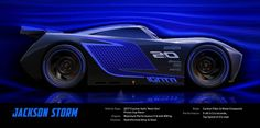 Dive under the hood of Jackson Storm, a sleek new rival for Lightning McQueen who debuts in Disney-Pixar& Cars in theaters June Disney Pixar Cars, Disney Movies, Disney Wiki, Disney Art, Walt Disney, Chevrolet Corvette, Jackson Storm, Cars 3 Characters, Film Cars