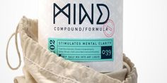 Mind / design logo typography branding packaging
