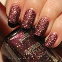 Dakila´s NailBlog - p2 Sand Style seductive
