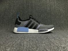 NEW ADIDAS NMD R1 RUNNER CORE BLACK CARGO TRAIL
