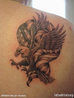 eagle tattoo designs | Eagle tattooed Feb. 2008 - Tattoo Artists.org
