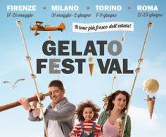 dal 21 al 23 giugno 2013: Gelato Festival 2013 Dopo Firenze, Milano e Torino il Gelato Festival arriva a Roma; l'Auditorium Parco della musica